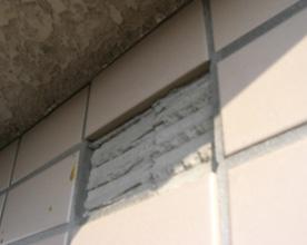 外壁タイル剥落